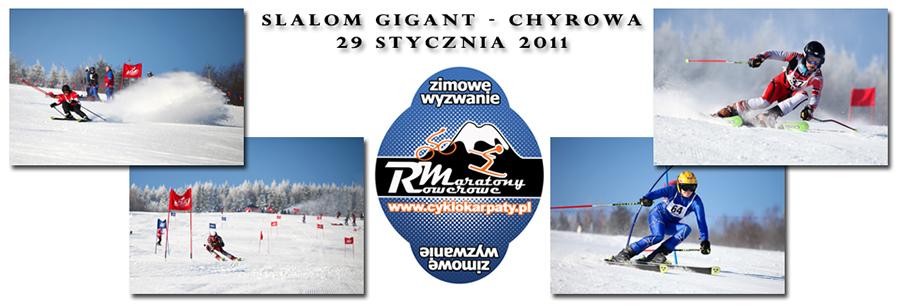 Slalom Gigant - Chyrowa 2011 1